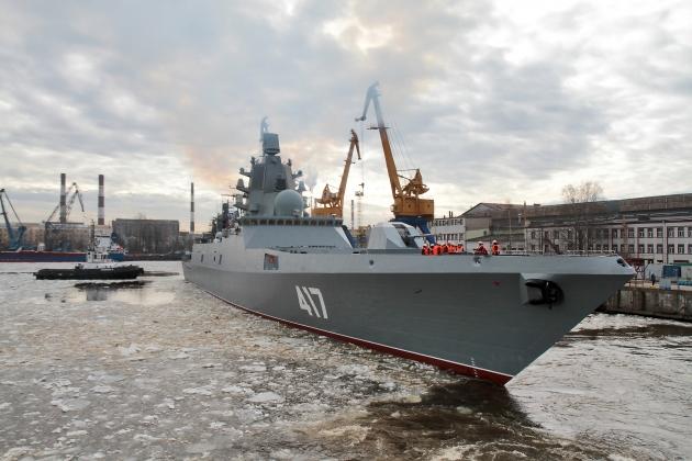Самый опасный для США фрегат ВМФ России пошел на финальные испытания