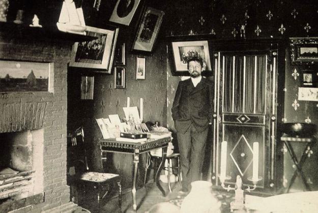 Чехов на даче в Ялте. 1901