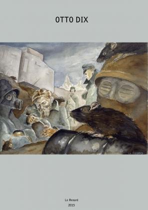 Otto Dix (Обложка комикса победителя конкурса фестиваля КомМиссия)