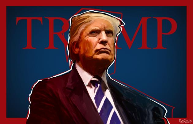 США. Дональд Трамп
