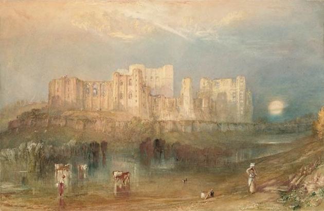 Уильям Тернер. Замок Кенилуэрт. 1830