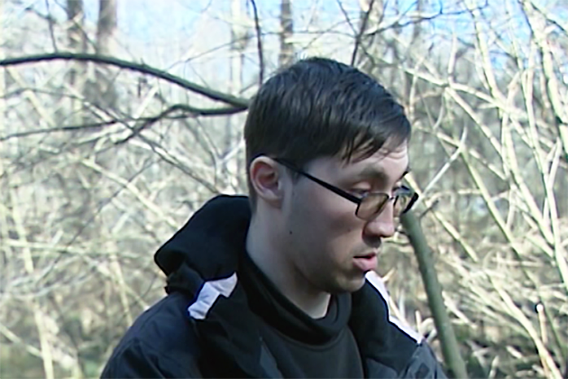 Активист «Белого легиона» Евгений Полторжицкий