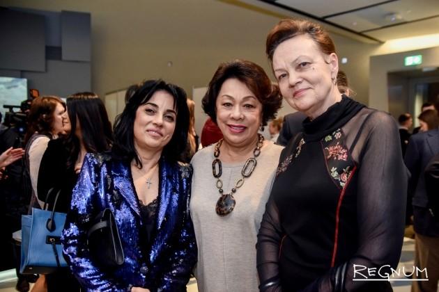 Первые гости на открытии экспозиции «Армянский импрессионизм. От Москвы до Парижа» в Музее русского импрессионизма