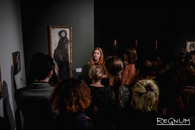 Экскурсия для первых посетителей выставки «Армянский импрессионизм. От Москвы до Парижа»