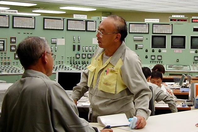 Центральный пост управления АЭС «Токай-2»