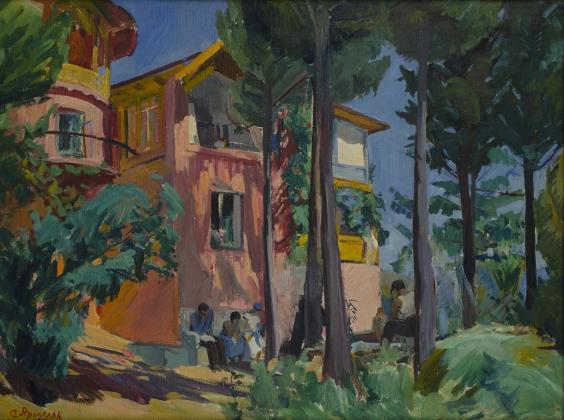 Дом отдыха. Ахтала. Седрак Аракелян. 1934