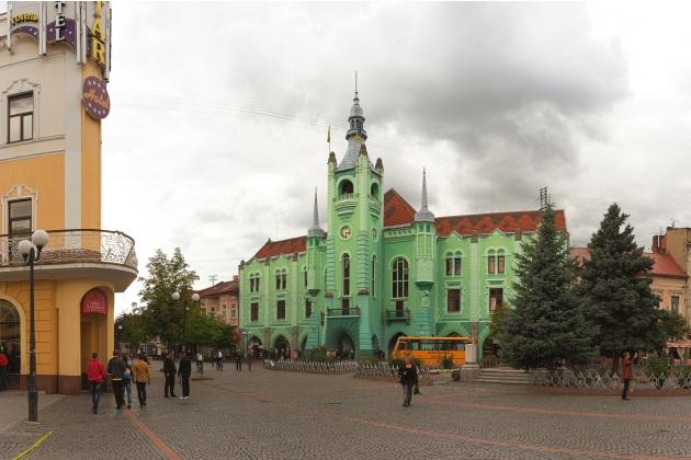 Ратуша города Мукачево
