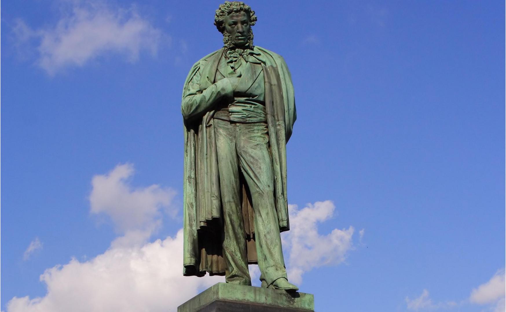 памятник пушкину в москве картинки