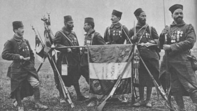 Французские колониальные войска времен Первой мировой войны