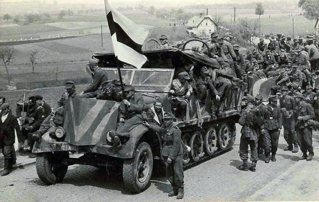 Эстонские легионеры СС