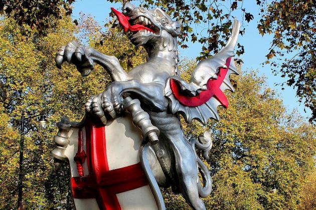 Дракон в Лондон Сити