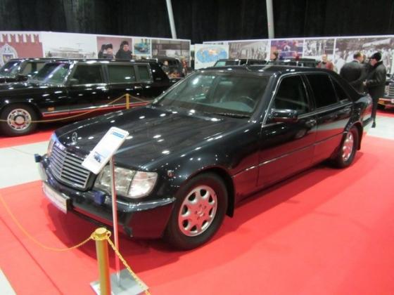 Mercedes-Benz Бориса Николаевича Ельцина