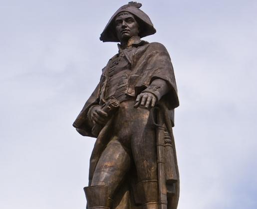 Памятник Николаю Петровичу Резанову. Красноярск