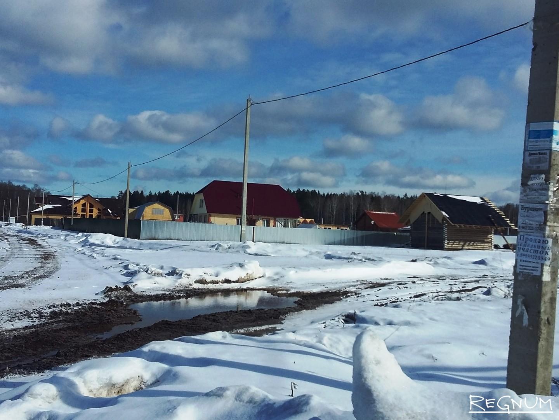 Новострои в деревне Уржумка