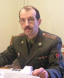 Начальник управления информации главного управления идеологической работы Министерства обороны РБ Макаров Владимир Матвеевич