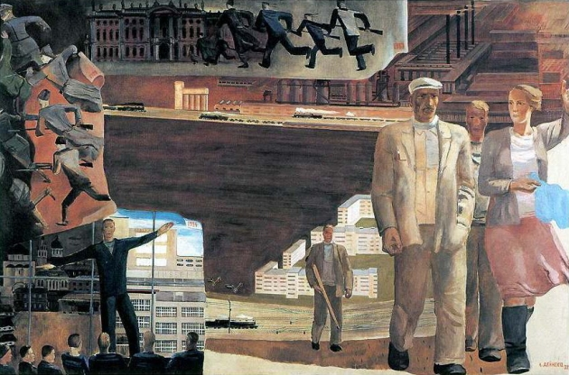 Александр Дейнека. Кто кого. 1932