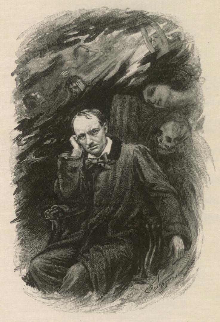 Дродж Рочегроссе. Бодлер. 1917