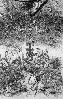 Фелициен Ропс. Цветы зла. 1866
