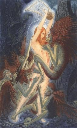 Карлос Швабе. Цветы зла. 1900