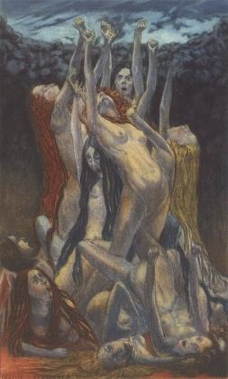 Карлос Швабе. Цветы зла. Восстание. 1900
