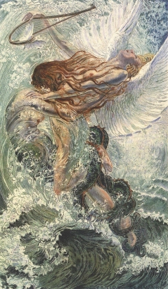 Карлос Швабе. Цветы зла. Идеал. 1900