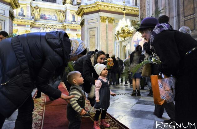 Три тысячи детей выйдут на крестный ход у Исаакиевского собора