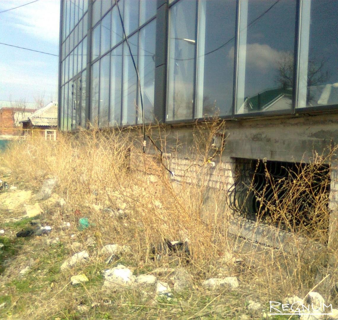 Новостройки за зиму погрязли в бурьяне и мусоре