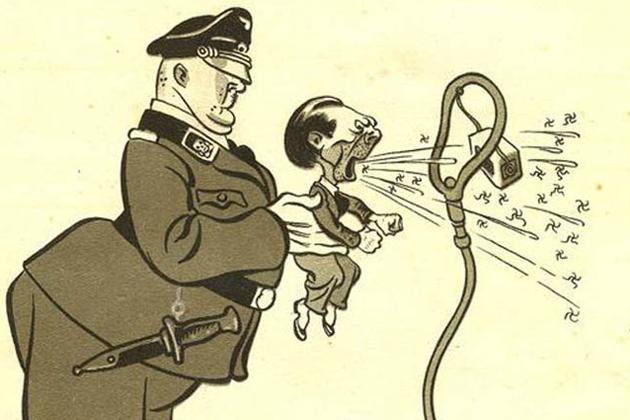 «Рейхсминистр пропаганды» доктор Геббельс