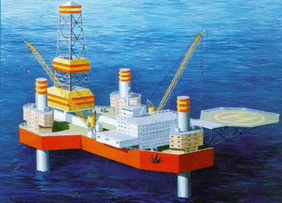 Плавучая буровая установка СПБУ «Арктическая»