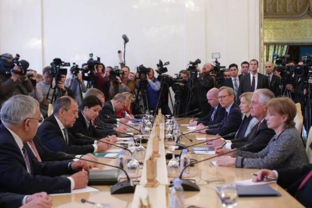 Переговоры Лаврова с Тиллерсоном завершились