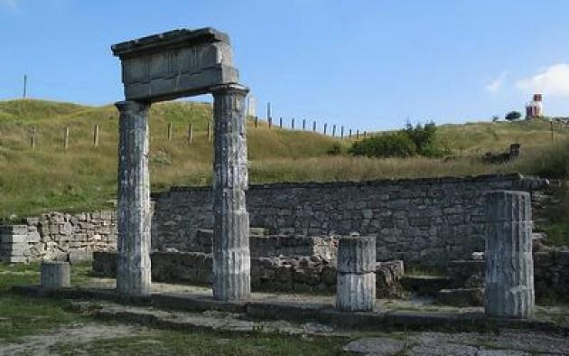 При строительстве Крымского моста нашли следы Боспорского царства