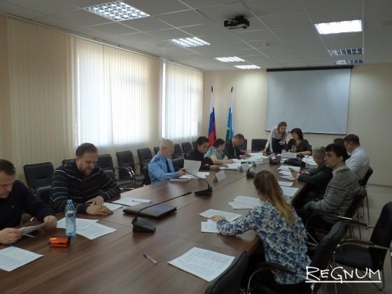 Заседание в Общественной палате Свердловской области 11 апреля 2017 года