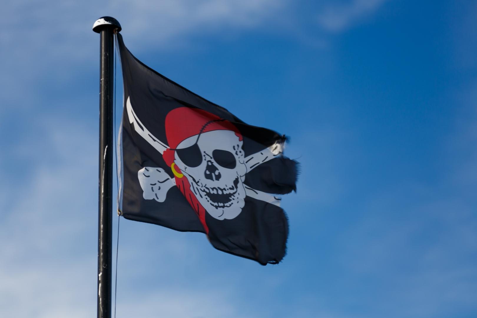 карамельно-коричневый фото пиратских флагов условия
