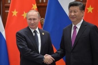 Владимир Путин и Си Цзиньпин