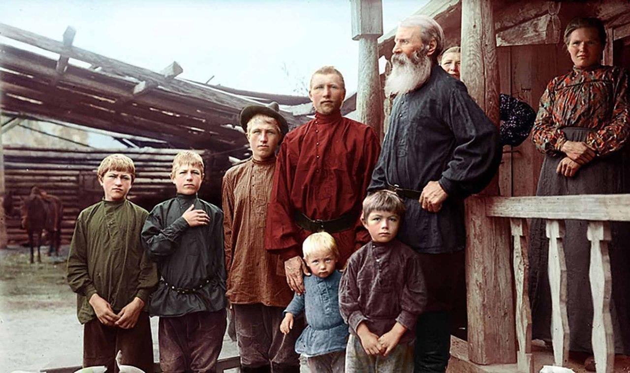Русская семья 1910 годъ