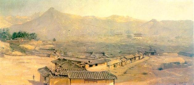 Сеул на картине 1898 года