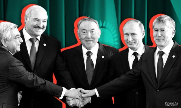 Лидеры государств — участников ЕАЭС