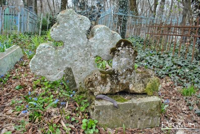 Двойное захоронение на Даниловском кладбище