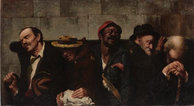 Антонио Даттило-Руббо. В бедности с кем не поведёшься. 1905