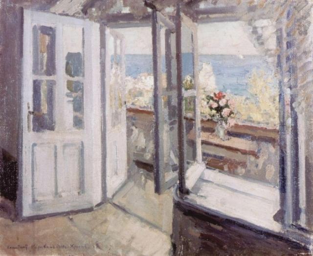 Константин Коровин. Балкон в Крыму