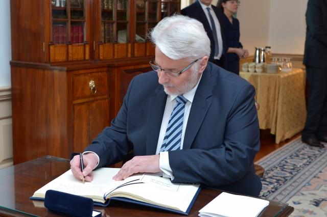 Витольд Ващиковский в Вашингтоне