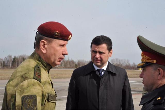 В Ярославль приехал главком Росгвардии генерал Виктор Золотов