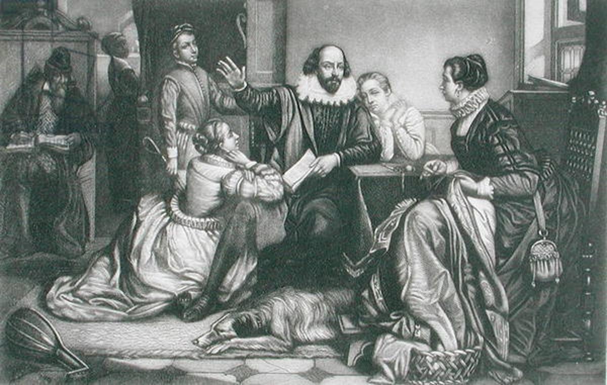 an examination of the behavior of hamlet in william shakespeares play hamlet