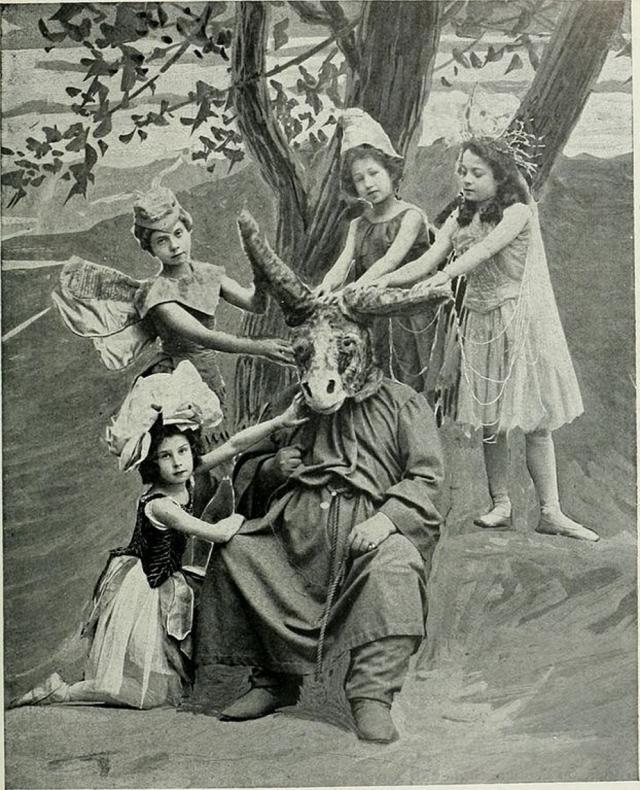 Сцена. «Сон в летнюю ночь». 1890