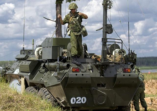Связисты Восточного военного округа