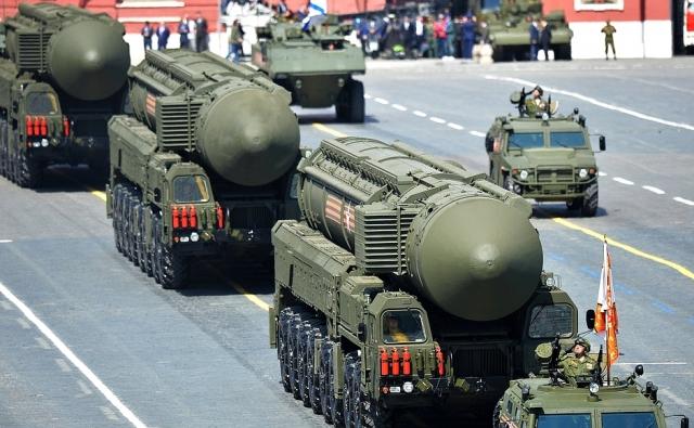 Межконтинентальные ракеты РС-24 «Ярс»