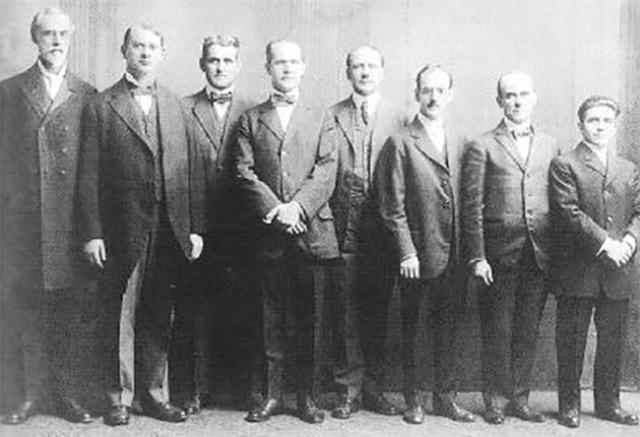 Члены секты «Свидетели Иеговы». 1918