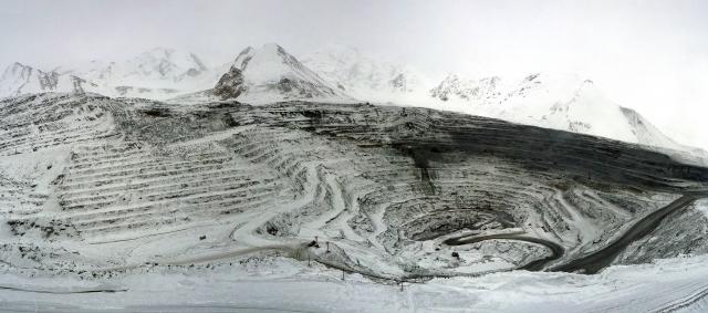 Золотоносный рудник Кумтор