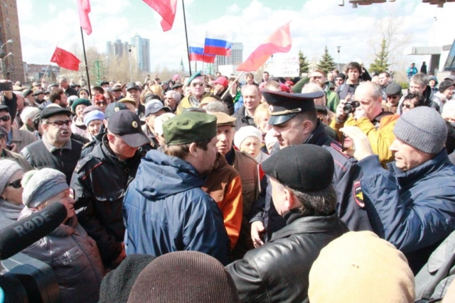 Организатор марша протеста в Самаре арестован за то, что разрешил суд