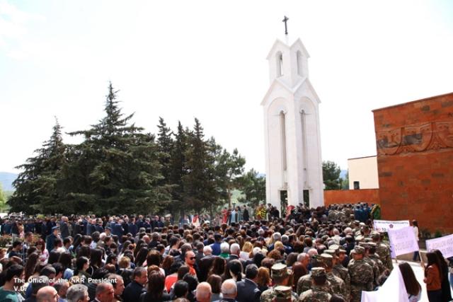 Президент Карабаха: Мы продолжим бороться за признание Армянского геноцида